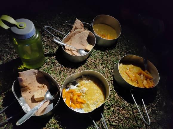 Dinner_at_Yuksum_in_Mess_Tin